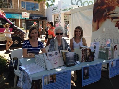 Book signing at the Angelo Street Marketplace with Natasha Lester (author of If I Should Lose You and What Is Left Over, After) and Dawn Barker (author of Fractured)