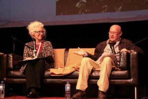 Discussing Elemental with Richard Rossiter at the 2015 Margaret River Readers and Writers Festival