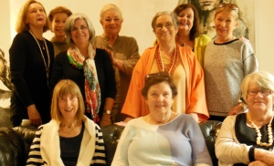 I was delighted to be invited to Susan Pearce's book club for their discussion of Elemental