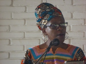 Mpho Tutu, keynote address: 'Without forgiveness, peace cannot fly.'