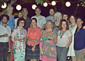 Superb writers dinner hosted by the Fairmont Hotel, Sanur
