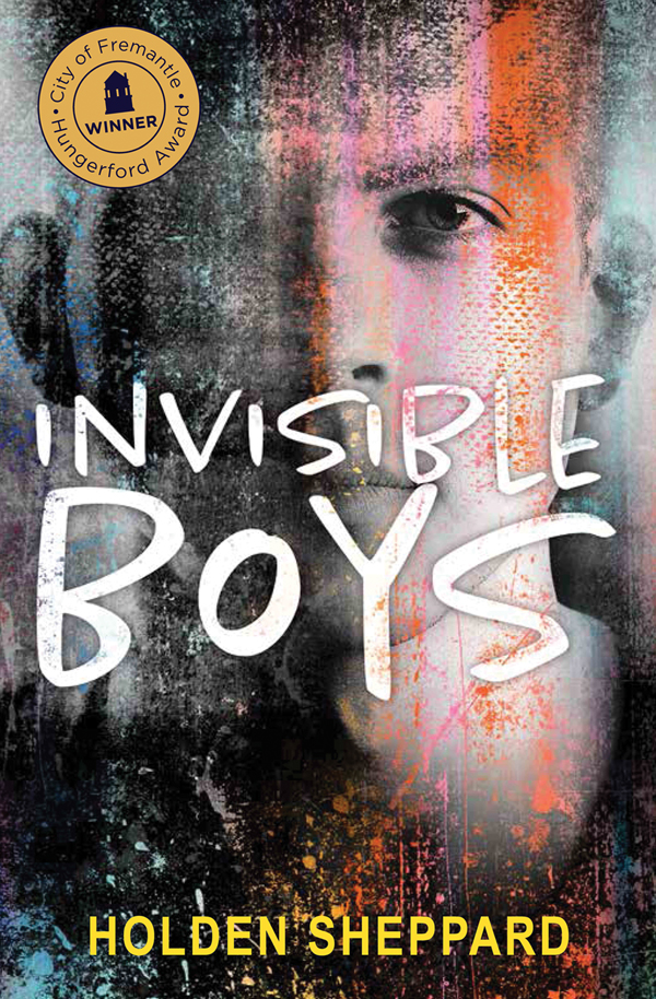 INVISIBLE BOYS COVER